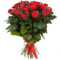 31 красная роза  50см